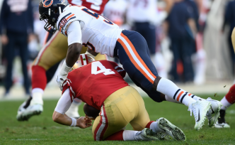 49ers Hang Tough But Fall Short in 14-9 Loss to the Bears