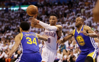 Warriors Thumped by Thunder in Game 4, Now on the Brink of Elimination