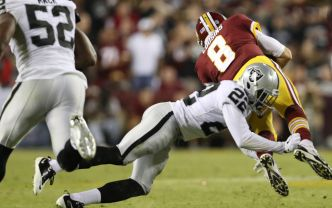 A Healthy Conley Looks Good to Raiders