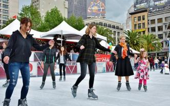 2018 San Francisco Union Square Ice Rink