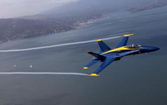 Blue Angels Roar and Soar Over SF