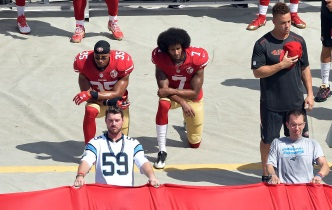 Four More 49ers Protest in Solidarity With Colin Kaepernick