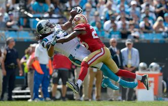 Niners' Late Rally is Answered by Panthers