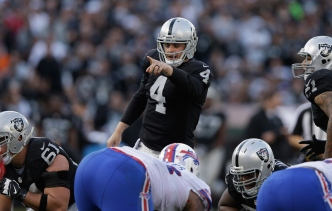 Raiders' Carr Admired by Gruden