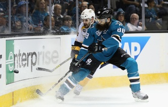 Sharks Take Game 1 Against Predators