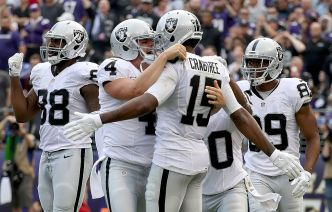 Raiders Rally to Beat Ravens in Fourth Quarter