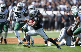 Without Carr, Raiders May Try to Run Over the Ravens