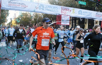 Thousands to Flock to Silicon Valley Turkey Trot in San Jose
