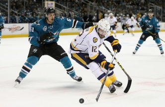 Sharks Win 3-2 in Game 2 Against Predators, Lead NHL Playoff Series 2-0