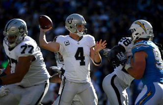 Downing Wants Carr More Involved in Game Planning
