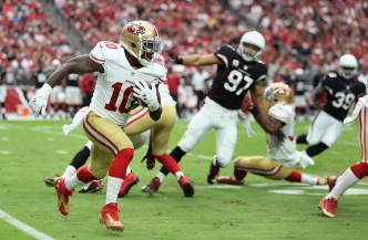 Ellington Off to Fast Start in 49ers Camp