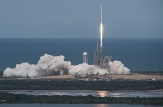 SpaceX Launches a New Version of Its Workhorse Rocket