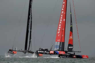 Wild Weather Cancels America's Cup Racing
