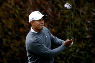 Tiger Woods Starts U.S. Open Strong