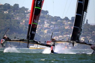 New Zealand Takes Early Lead in America's Cup