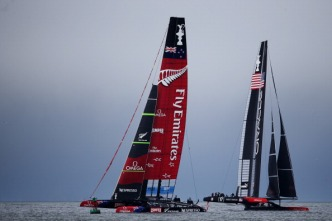 Winds Die Down on Bay Impacting America's Cup