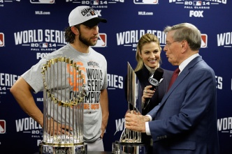 Giants Ace Bumgarner Wins World Series MVP