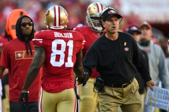 For 49ers, Playoff Drive Starts Sunday