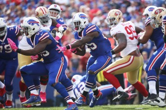 Defense Bullied by Bills, 49ers Lose Fifth Straight