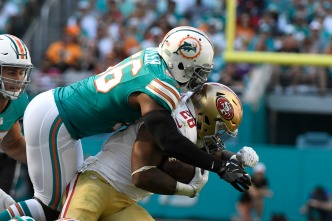 49ers Fall in Miami, Lose Franchise-Record 10th Straight