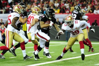 Falcons Roll 49ers, San Francisco's Losing Streak Continues