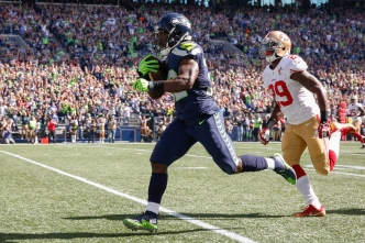 Seattle Dominates 49ers 37-18 in Seattle