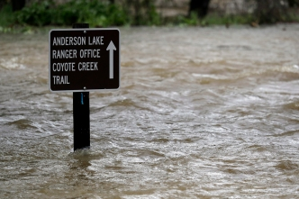 'We Are in Unchartered Territory:' USGS Tracks Coyote Creek