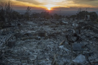 California Revises Fire Relief Request From $7.4B to $4.4B