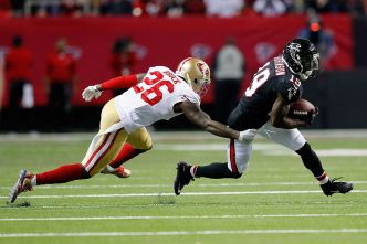 Former Falcon Robinson Adds Speed to 49ers