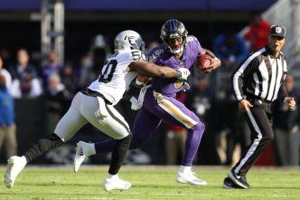Raiders' Nichols Morrow Learning From Veteran Linebackers