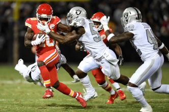 After Solid Raiders Debut, Bowman is Eager to Lead
