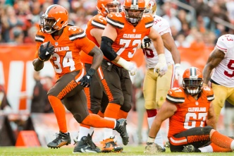 Browns Exposed 49ers' Deficient Run Defense