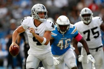 Derek Carr's Numbers in Red Zone Are Alarming