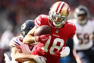 Niners Have Great Expectations for Receiving Corps
