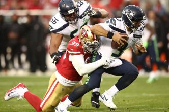Niners' Buckner Has Become a Defensive Force