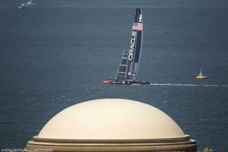 WATCH: America's Cup Race USA vs. New Zealand