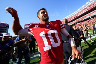 Niners' Garoppolo Was Sharp When It Counted