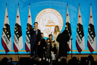 Gavin Newsom and Family to Live in $3.7M, 12,000 Sq. Ft. Mansion