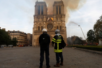 SoCal Firefighter Witnesses Notre Dame Go Up in Flames