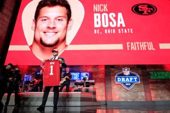 Bay Area Reacts to Controversial 49ers Draft Pick Nick Bosa