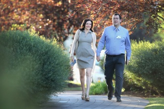 Sandberg on Speaking Publicly After Husband's Passing