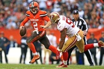 Niners Suffer a Brown Out in Cleveland