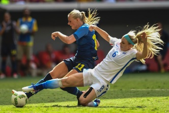 US Women's Soccer Team Ousted by Sweden