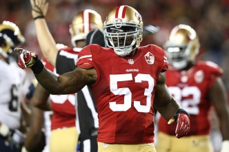 49ers' Bowman Out for the Season With Achilles Tear