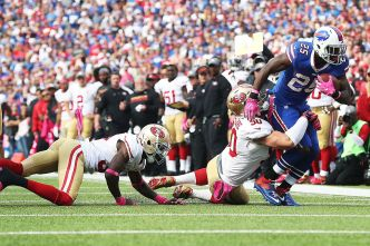Niners Are Defenseless in Fifth Straight Loss