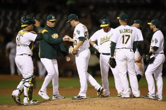 Fulmer Outduels Triggs as A's Fall to Tigers