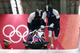 Monterey Olympian Disappointed by Qualifying Runs in Bobsled