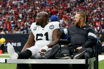 Raiders Aren't Sure When Center Rodney Hudson Will Return