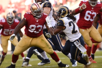 Niners Take Care of Williams to Start Free-Agent Season
