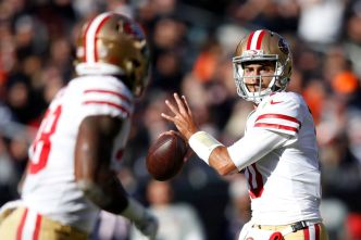 Garoppolo Looks Terrific in First Start to Lead 49ers to Win